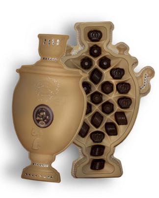 шоколадные конфеты русский самовар тёмный