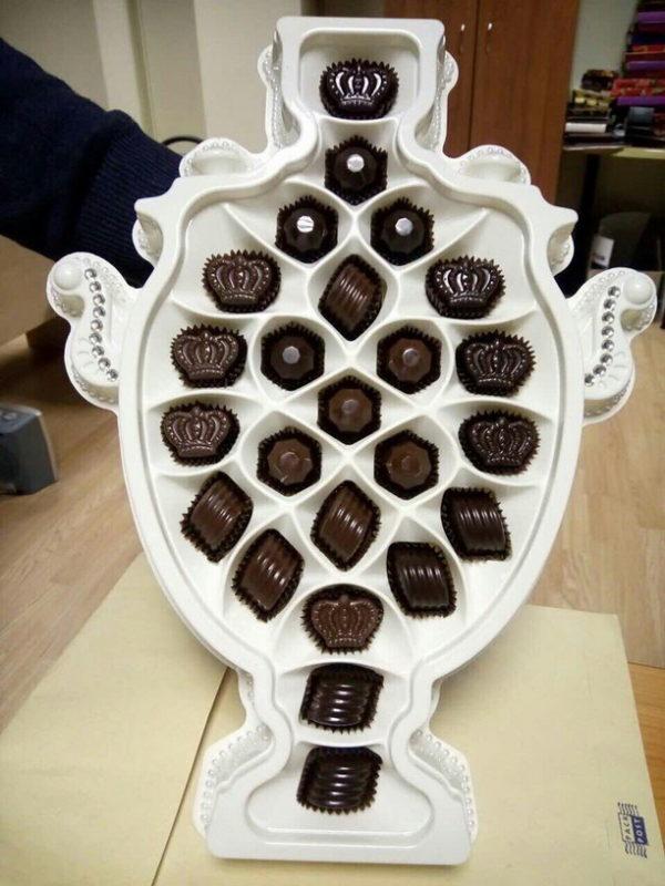 шоколадные конфеты русский самовар